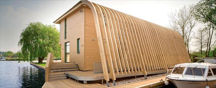 Architettura archideando - Casa legno moderna ...